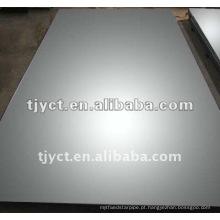 Folha de aço inoxidável BA / 2B 304