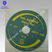 "flexible 5 ""trou rond oxyde d'aluminium disque de fibre abrasive inde"