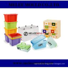 Herramientas de moldeo de envases de cajas de inyección de plástico
