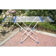 Telescopic drying rack clothes drying line