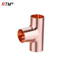 J17 4 10 1 ASME B16.22 égal té cxcxc eau cuivre tuyau raccord de raccord