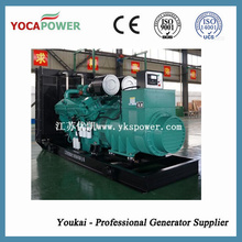 1000kVA Gerador Diesel Yuchai Motor para Trabalho Industrial