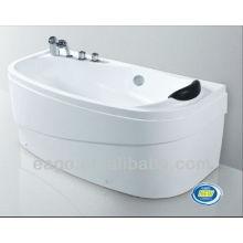 EAGO classical acrylic bathroom Bathtub with pillow LK1001