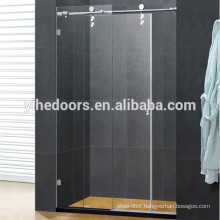 Stainless steel sliding shower door