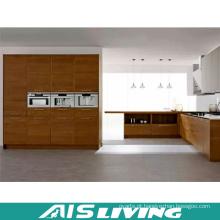 Mobília do armário de cozinha da melamina da L-Forma (AIS-K398)