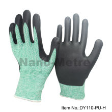 Anti-cut nivel 5 PPE seguridad y guantes industriales