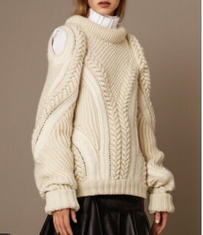 cable women's sweater