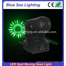 2015 whole sale 75w brightness colorful mini led spot moving head