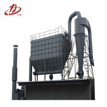 Concrete powder mixing dust collector bag house