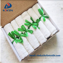 Hot sale most soft and absorbent 100% organic bamboo baby towels wholesale
