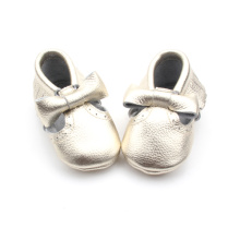 New Style Bow Baby Moccasins Shoes