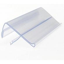 Titular da etiqueta da co-extrusão / faixa de preço / produto da exposição da promoção com material do PVC de 100%