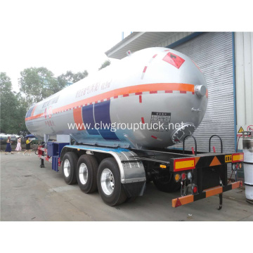 61.9 cubic propane gas transport semi-trailer
