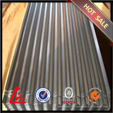 Tôle d'acier galvanisée ondulée / tôle d'acier galvanisée / toiture métallique