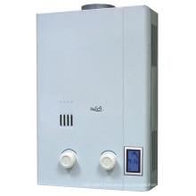 Elite calentador de agua de gas con pantalla LED (S64)
