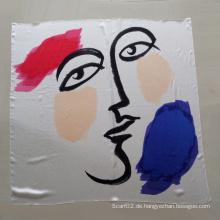 Frauen reine Seide Quadrat Schal Schal Fabrik