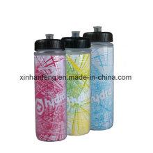 Красочная велосипедная бутылка с водой для воды (HBT-030)