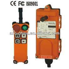 Ningbo Uting F21-4S/D AC Crane remote control/Uting Wireless industrial remote control overhead crane/ single speed button