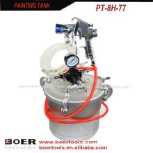8L/10L Paint Tank with high pressure spray gun no inner tank