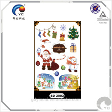 """Christmas Item"" Lovely and cute designs,Christmas man and Christmas gift tattoo sticker"