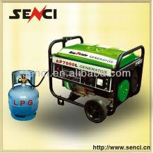 Heißer Verkauf Senci 6kw 14HP Hauptgebrauch LPG Generator