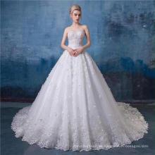 Vestido de novia de cuello alto vestido de novia 2017 HA570