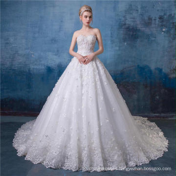 High neck wedding dress bridal gown 2017 HA570