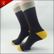 Best Price Custom Socks Men Yellow