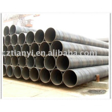 hebei cangzhou trading GB/T3091 Q235 spiral steel pipe pangang steel pipe