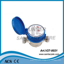 Single Jet Dry Dial Brass Body Class B Water Meter