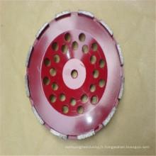 meules frittées de haute qualité de coupe de diamant pour le marbre