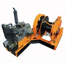 10ton Diesel Engine Powered Winch for Marine, Construction, Mining (JMD-10T)