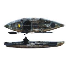 Rotomolding Single Fishing Kayak Sit on Top Leisure Boat