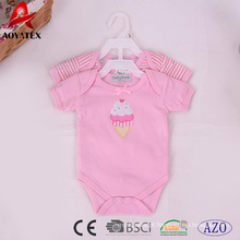 algodão bebê roupas de bebê recém-nascido de malha bodysuits macacão