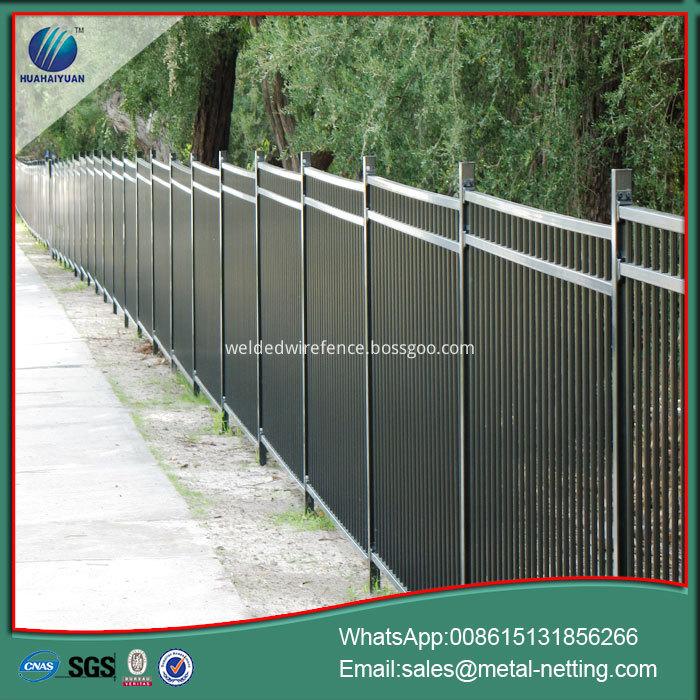 metal steel fencing