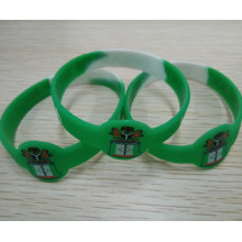 Anti-Crime Nigeria Customized Printing Silicone Bracelet