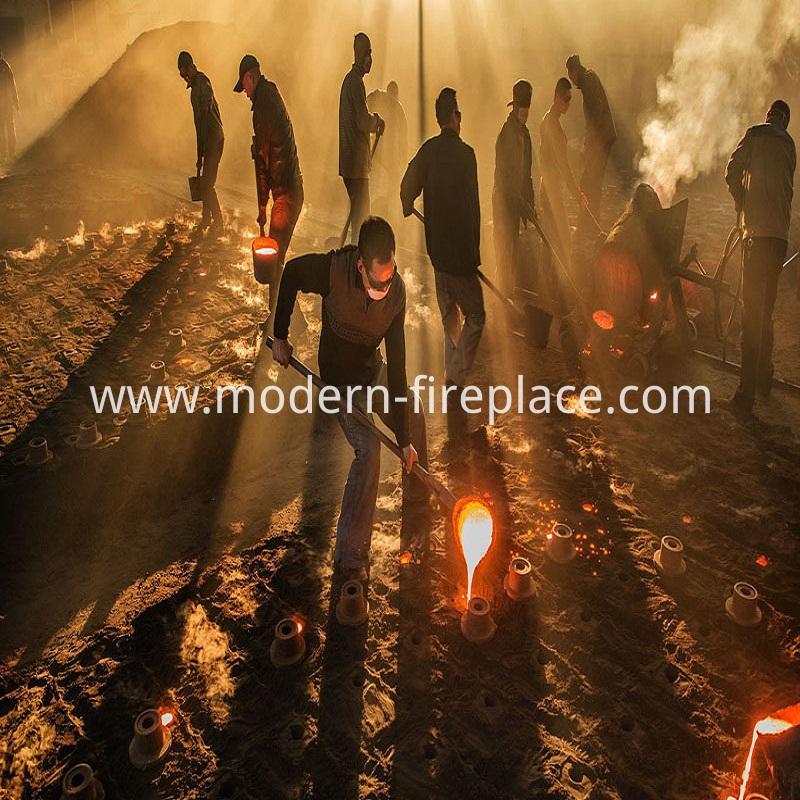 Wood Burning Fireplace Online Production