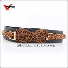 Good Quailty Animal Skin Pattern Women's Elastic Belt