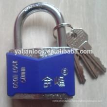 blue color anti-sawing rhombic padlock