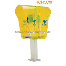 Kunststoff-Telefonzelle