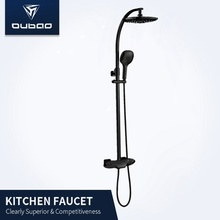 Bath Room Wall Mounted Thermostatic Shower Faucet Mixer