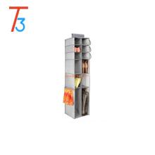 16 compartimentos r, para Sapatos, Botas, Bolsas, Embreagens Tecido Hanging Closet Storage Organizer