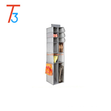 16 compartments r, for Shoes, Boots, Handbags, Clutches Fabric Hanging Closet Storage Organizer