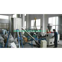 Pvc Plastic Pellet Making Machine Sjsz 65 With Rkc Temperature Controller