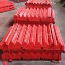 Подвижные челюсти для дробилок Metso (C63 / C80 / C100B / C110 / C125B)