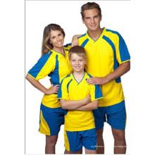 2016 Moda Familia Diseño Sublimación V-cuello Camisetas