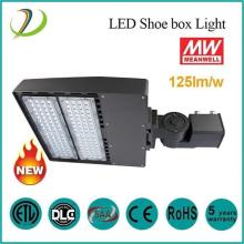 DLC Led ShoeBox 150watt levou luz de estacionamento