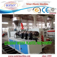 Plastic Machine of conical double screw extruders