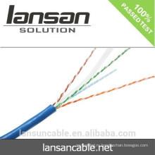 Лучшая цена / качество 1000mbps 4 пары 23awg Copper Cat 6 Utp Cable