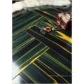 Commercial 12.3mm Mirror Teak Water Resistant Laminated Flooring